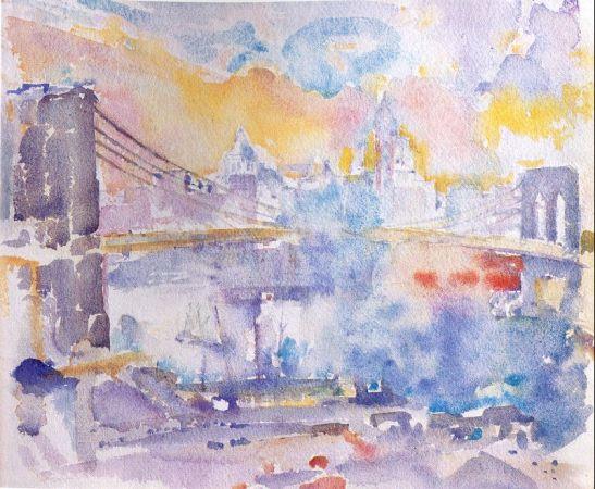 Brooklyn Bridge, 1912