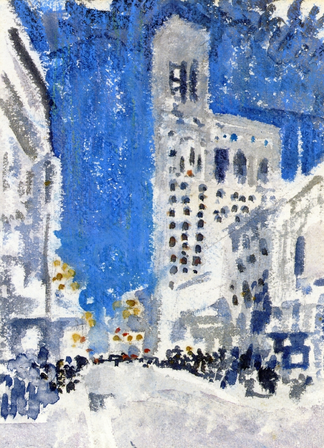 City Scene, 1909