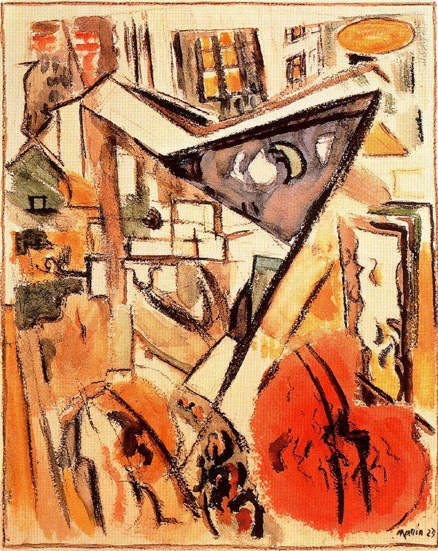El bajo Manhattan, 1923