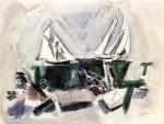 Schooner Yachts, Deer Isle, Maine, 1928