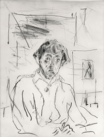 Self-portrait, 1950