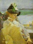 De dame met de parasol, 1888