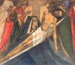 Jezus wordt van het kruis genomen, 1918