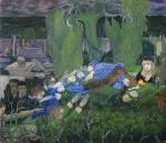 Les rôdeurs, 1891